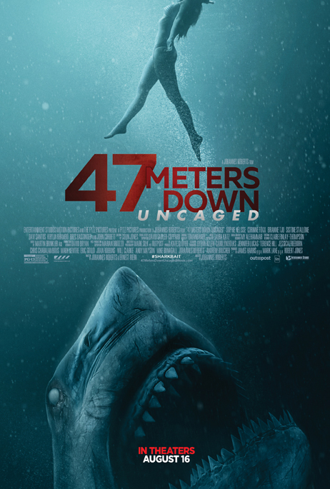 REVIEW:47 METERS DOWN: UNCAGED